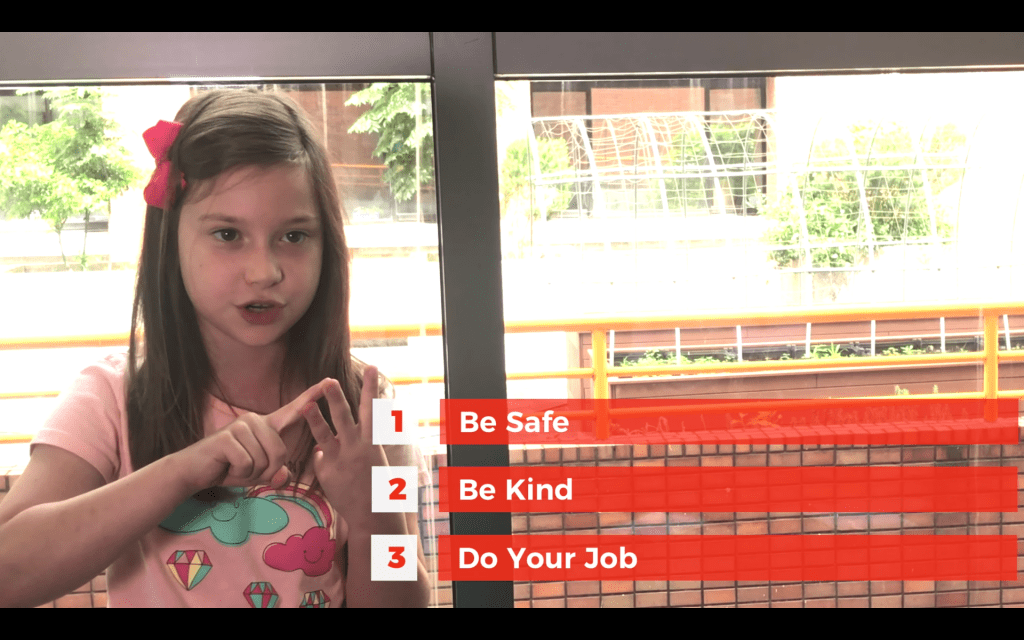 Lower School Expectation Promo Video