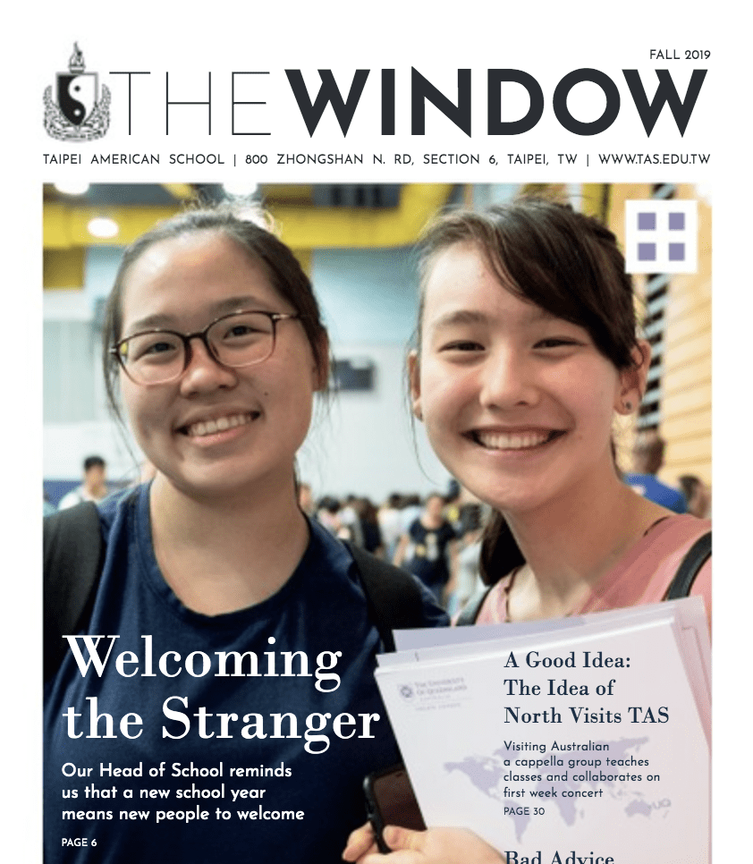 """My Article on """"The Window"""" Journal"""